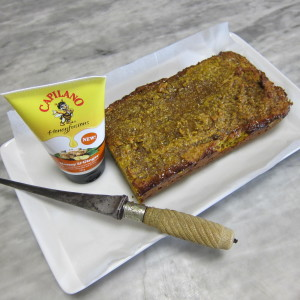 Pumpkin Bread and Ginger Honey