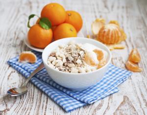 Muesli for a healthy breakfast