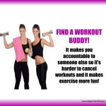 Regular Exercise is easier with a friend