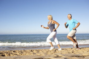 Sand running for fitness