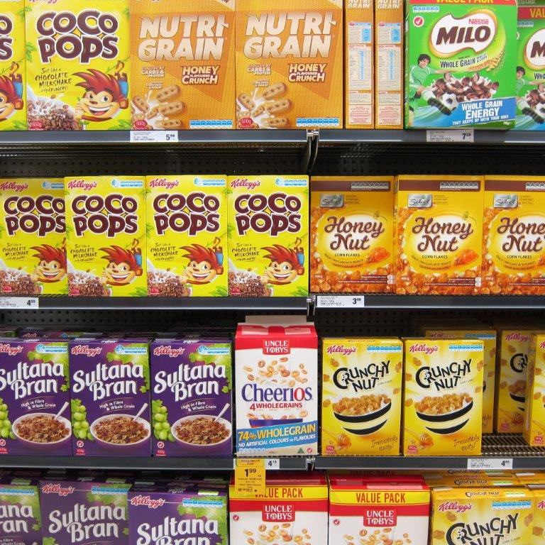 Processed breakfast cereals