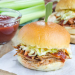 Pulled Beef Brisket Sliders with Slaw – for the Best Lazy Weekend Lunch Ever