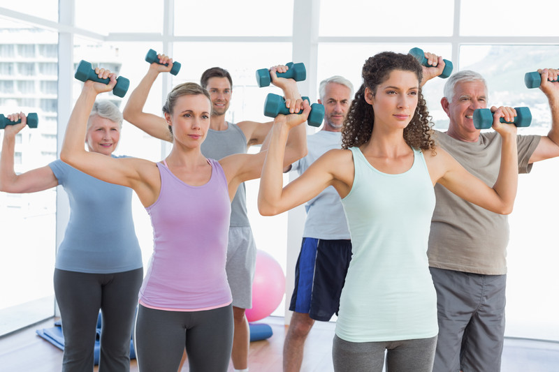 weight training for seniors