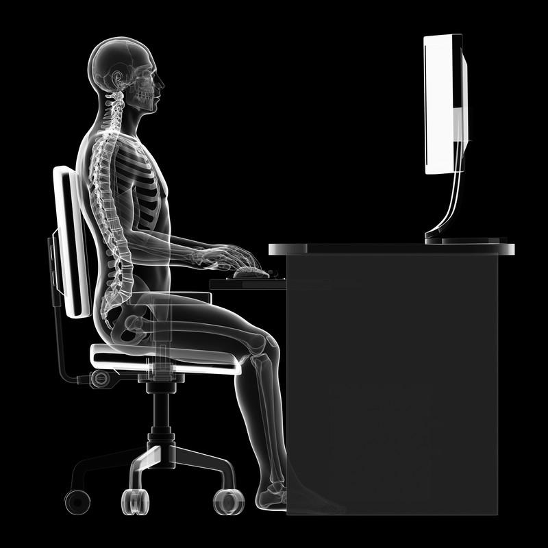 correct sitting posrure