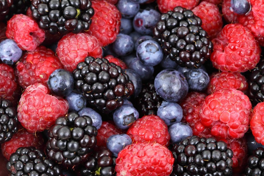 berries full of antioxidants